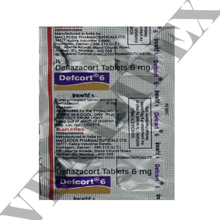 Defcort 6 mg Tablets