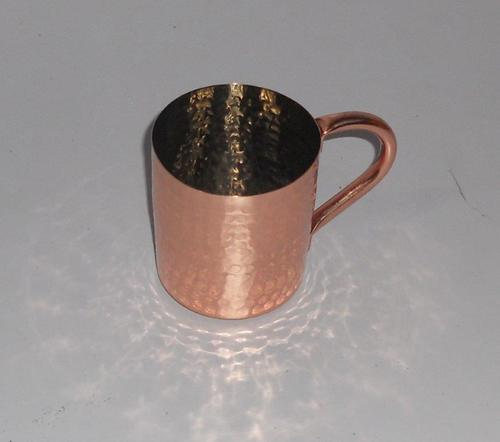 Crafted Copper Mug