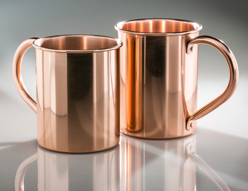 Decorative Copper Mug