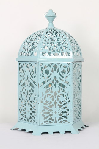 Crafted Metal Lantern