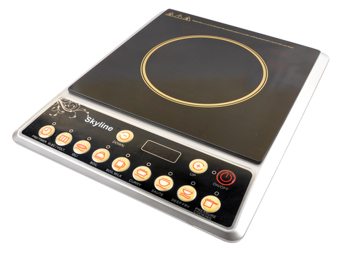 Induction cooker without steel pot