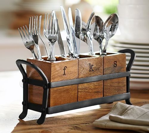 Crafted Cutlery Holder