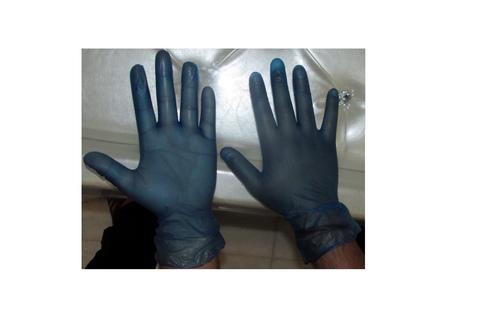 Blue Gloves Powder Free