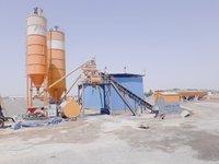 Stationary Concrete Batching Plant (Mixer Pan Type)