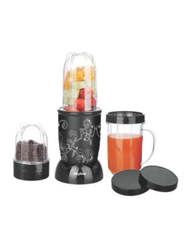 Nutri Mix Mini Food Processor with 3 jars