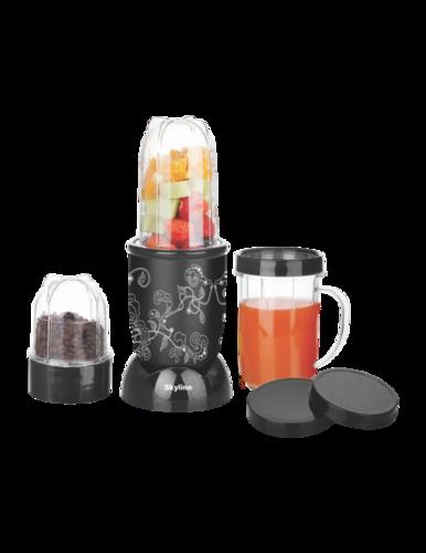 Nutri Mix Mini Food Processor with 3 jars