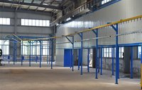 Metal Fence Powder Coating Line