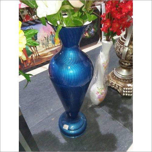 Metal Enamel Vase