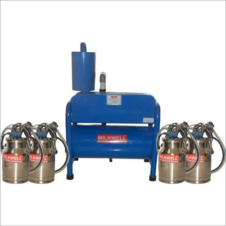 Four Bucket Milking Machine