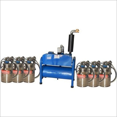 Six Bucket Milking Machine