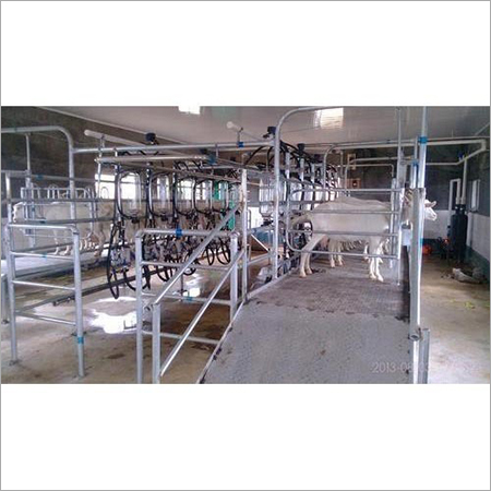 Ramp Milking Parlour