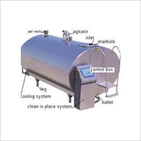 Bulk Milk Cooler Tank