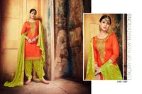 Aaditri Party Wear Chanderi Suits