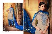 Aaditri Party Wear Chanderi Suits