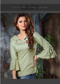 Fancy Rayon Short Kurtis