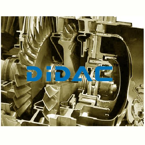 Turboshaft Cutaway Engine