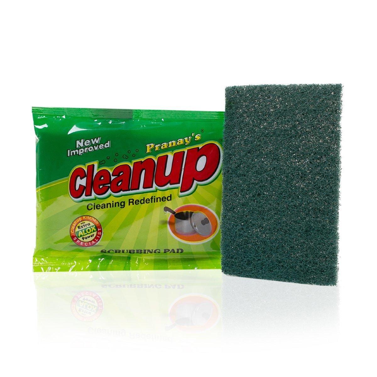 Green Scrub Pad