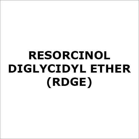 Resorcinol Diglycidyl Ether (RDGE)