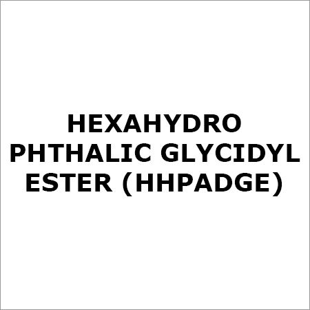 Hexahydro Phthalic Glycidyl Ester (HHPADGE)
