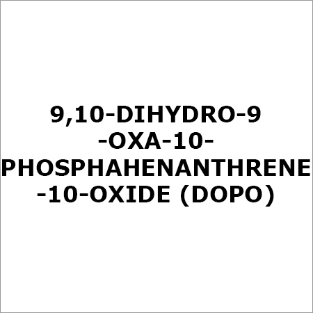 Non Halogenated Phosphorus Compounds
