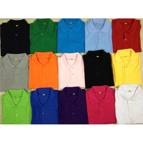 Collar Polo Uniform T Shirt
