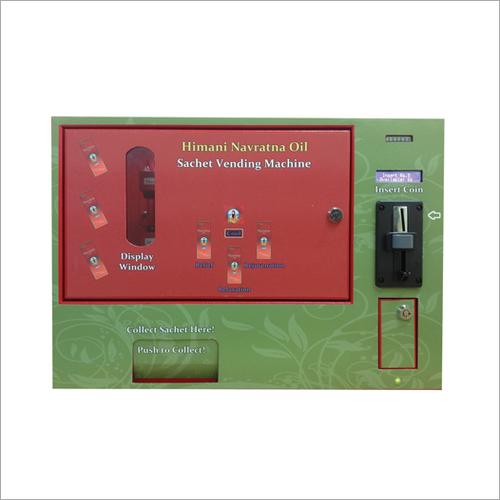 Sachet Vending Machine