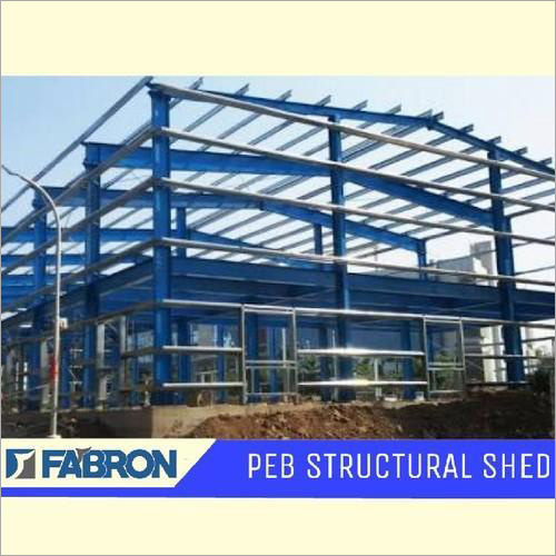 Fabron Mild Steel PEB Structural Shed