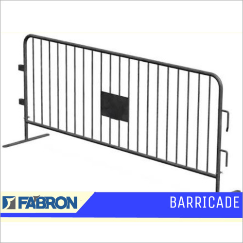 Metal Safety Barricade