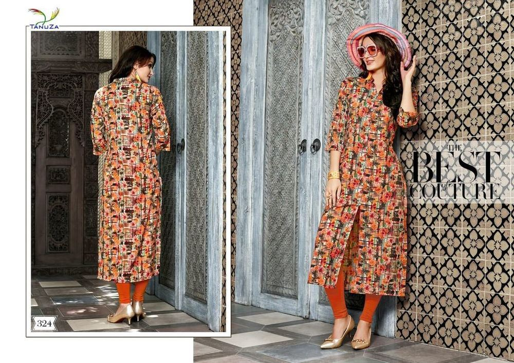 Fancy Digital Print Kurtis