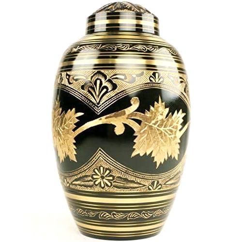 Brass Funeral Cremation Urn