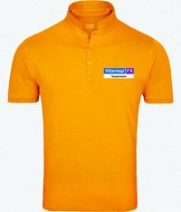 Mandarin collar T Shirt