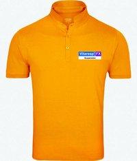 Mandarin collar T Shirt