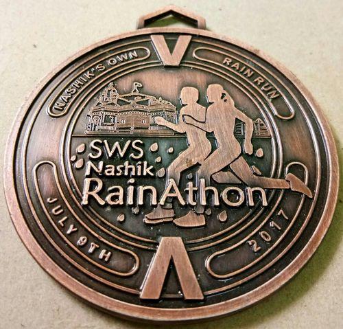 Engraved Marathon Medal