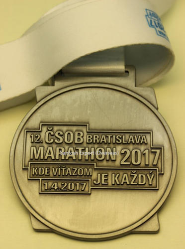 Customized Marathon Medal