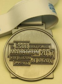 Customized Marathon Medal