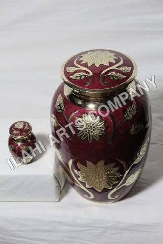 Red Pearl Ashes Urn