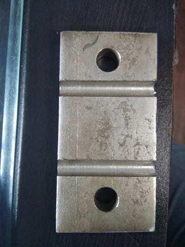 Railway Retention Tank Locking Plate