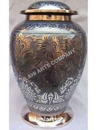 Brass Living Urn