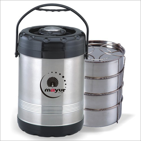 Mayur Stainless Steel Norton Tiffin 4 Container