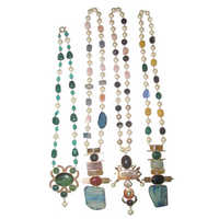 Western Semi Precious Necklace