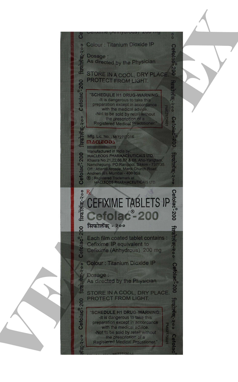 Cefolac 200 mg