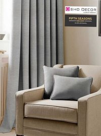 Texture Coated Blackout Fabric and curtain