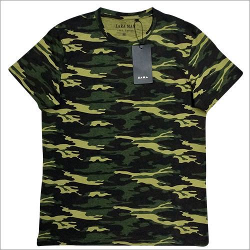 Round Neck Half T-Shirt