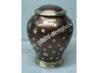 Brass Brown Radiance Urn