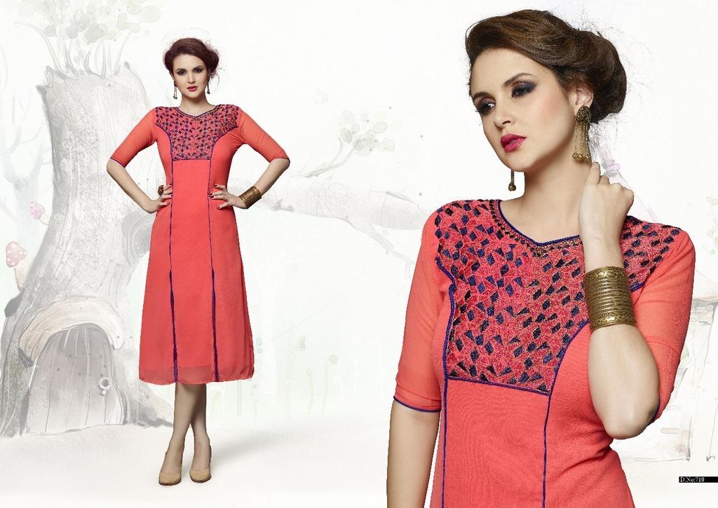 Best Designer Georgette Kurtis