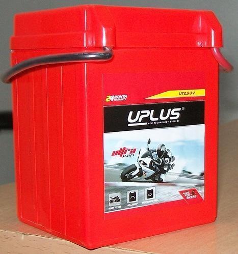 UPLUS Motorcycle Battery UT2.5-3-2