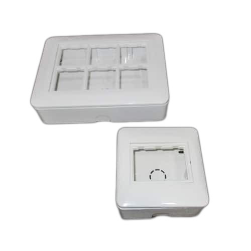 Uni Plastic Modular Gang Box