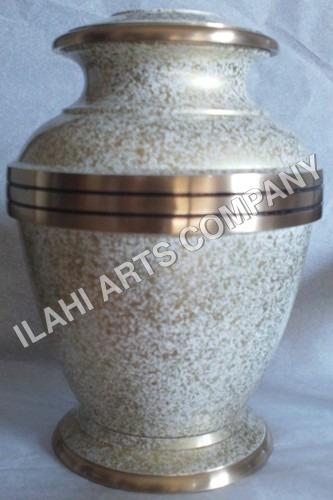 New Marble Metal Urn