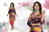 Ladies Fashion Rayon Kurtis