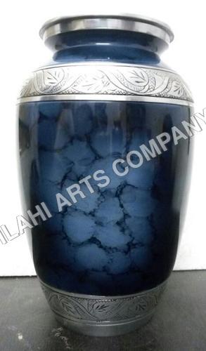 Blue Clouded Urn